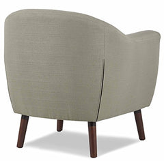Homelegance Lucille Fabric Upholstered Pub Barrel Chair, Beige img 3