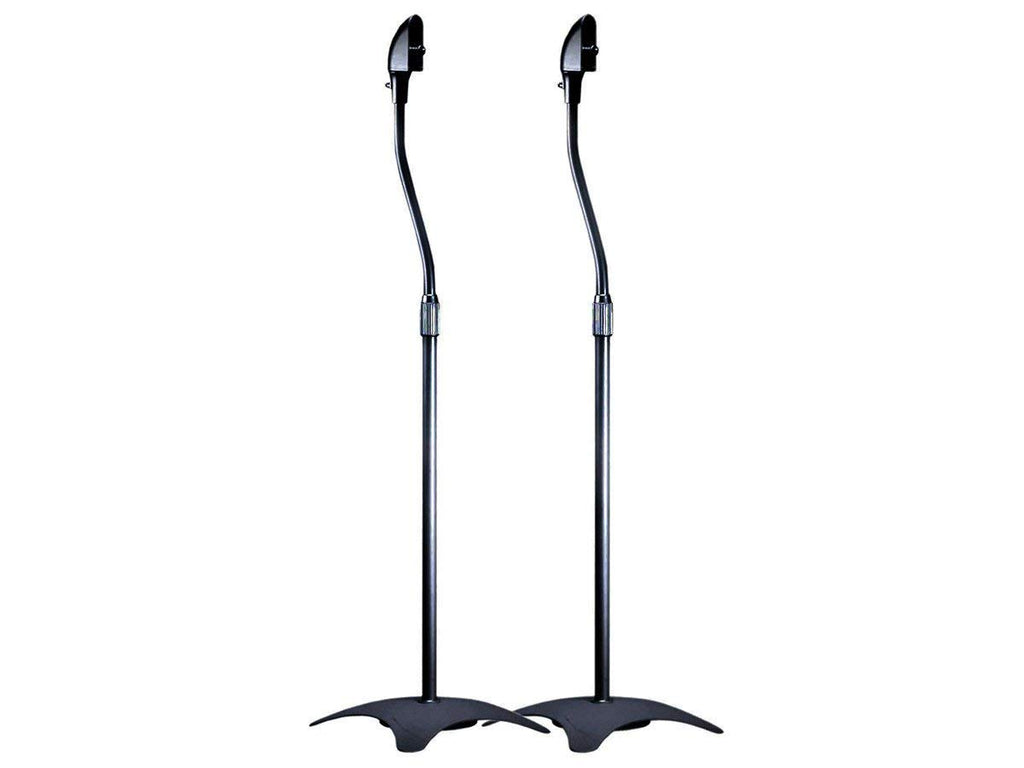 Monoprice Speaker Stand - Silver (MS-01) - Set of 2