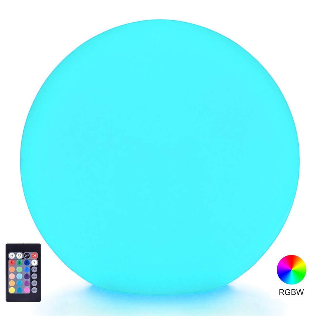 LOFTEK LED Light Up Ball : 6-inch RGB 16 Colors Kids Night Light with Remote Control, Home Decoration Floating Ball Mood Lamp, UL Listed Adapter, IP65