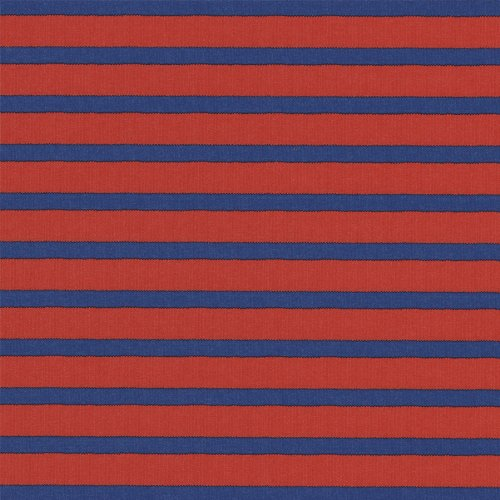Entertaining with Caspari 89130RSC roll of gift wrap Bretagne Red And Blue