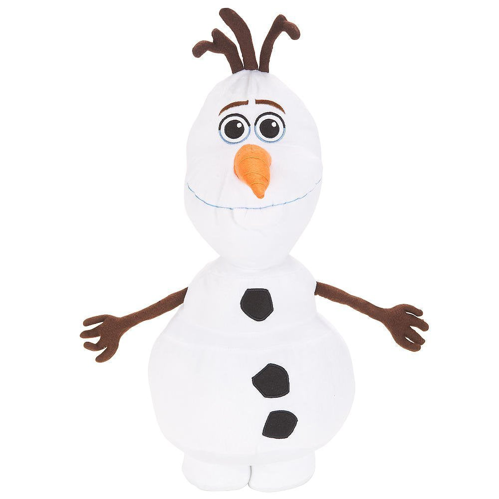 Disney Frozen Olaf 22 Inch Large Olaf Plush Cuddle Pillow Figure