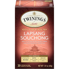 Twinings of London Decaffeinated Green Tea, 20 Count (Pack of 6)