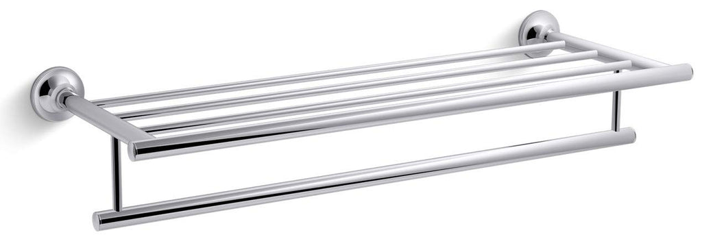 KOHLER K-13448-CP Coralis Hotelier Towl Bar, Polished Chrome