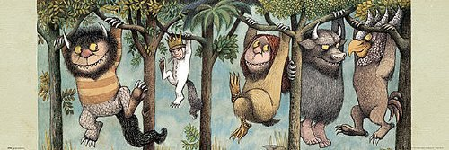 "Where the Wild Things Are Poster (36""x12"")"