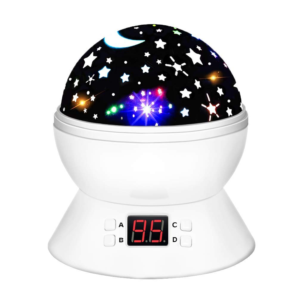 DIMY for Girls Boys Age 2-10, Multicolor Projector Star Night Lights Kids Toys for 2-10 Year Old Boys Girls Stocking Stuffer Fillers for Boys Kids Gir
