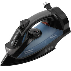 Sunbeam 4275-200 GreenSense SteamMaster Full Size Professional Iron with Retractable Cord and ClearView, Black