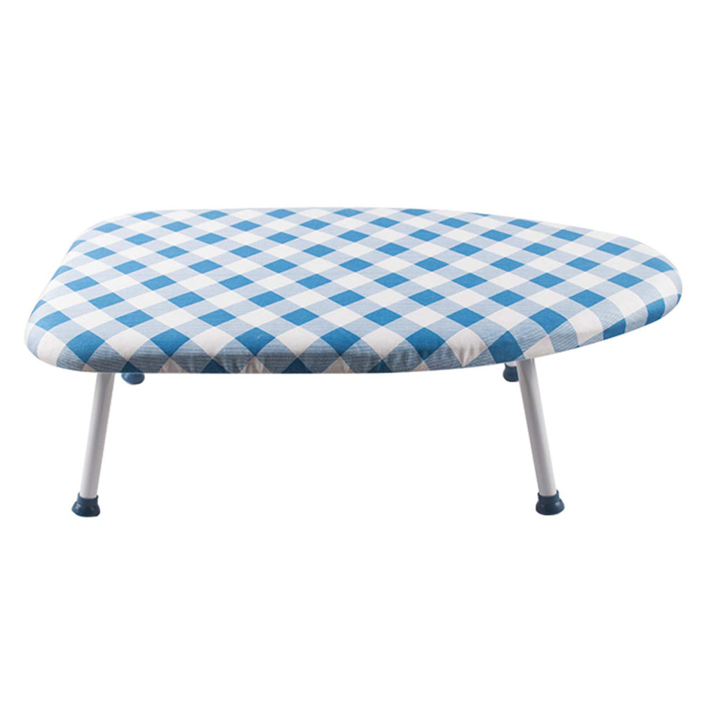 Berry Ave Tabletop Ironing Board – Table Ironing Board with Foldable Non-Slip Legs – Mini Ironing Board with Washable Cover – Portab
