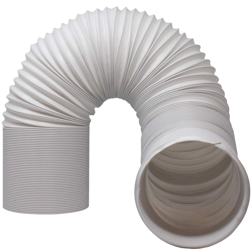 "Kraftex Air Conditioner Hose. Portable Exhaust Vent with 5.9"" Diameter - Length up to 80"". Great for LG, Delonghi and Many More Portable Air Condition"
