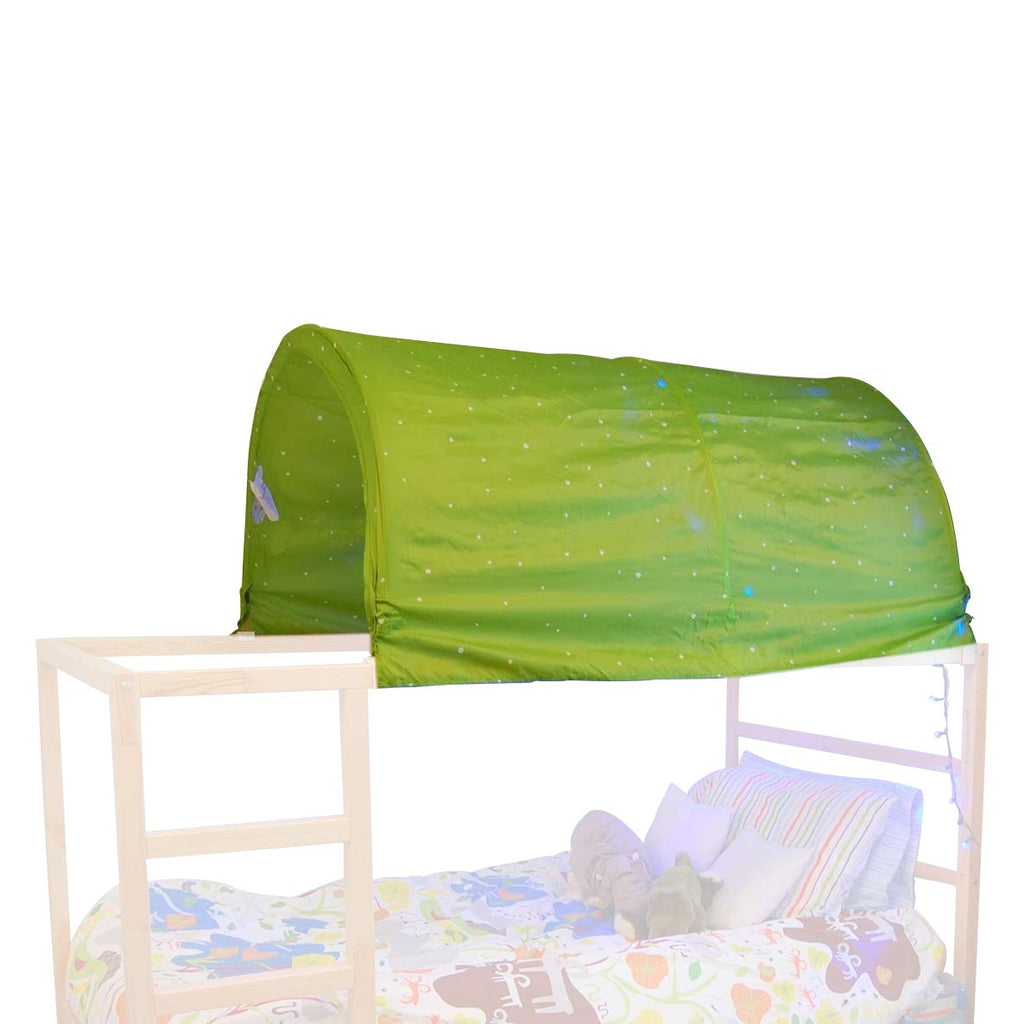 KAO Mart Bed Canopy Tent for IKEA Kura Bed (Green)