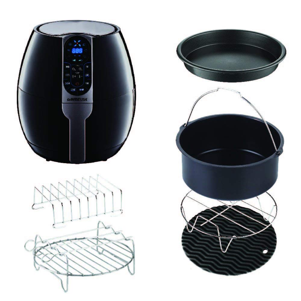 GoWISE USA (6-PC Accessory Kit (2.75-3.7 Quart Air Fryers))