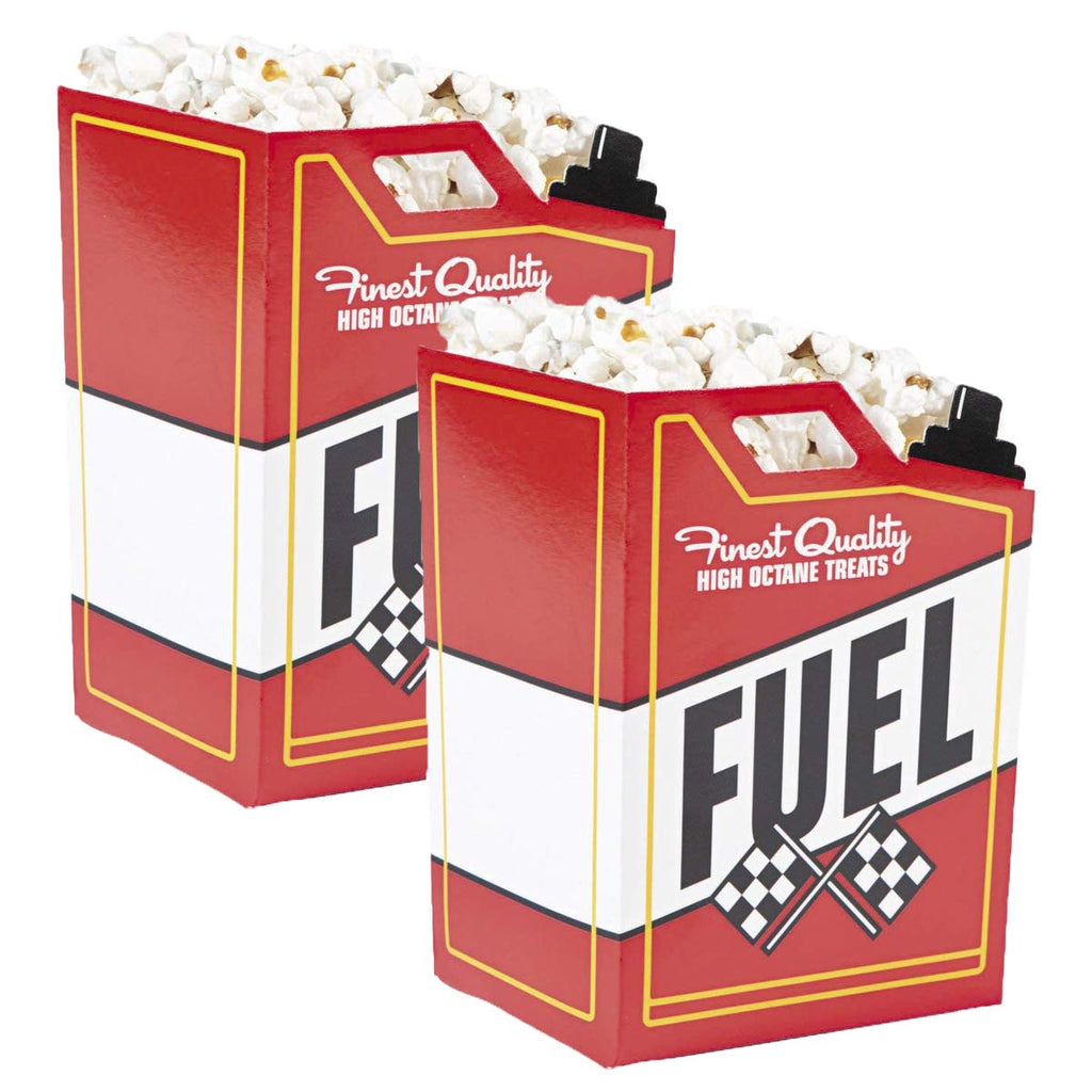 Race Car Fuel Can Popcorn Boxes - 48 ct
