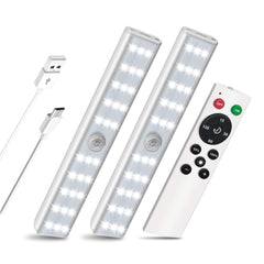 SZOKLED Motion Sensor Lights Battery Powered LED Kitchen Light, Wireless Under Cabinet Lighting, Battery Operated LED Cupboard Lights, Closet Light, S
