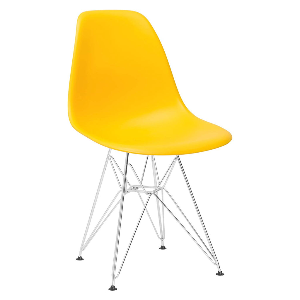 Poly and Bark Padget Side Chair in Yellow