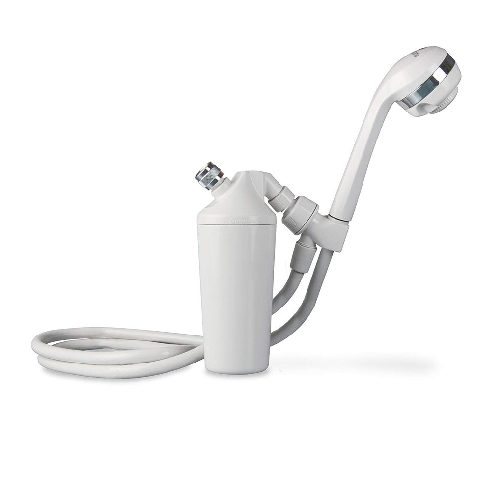 Aquasana Deluxe Shower Water Filter System for use with Existing Shower Head