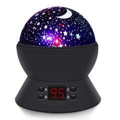 [UPGRADE] MOKOQI Rotating Star Sky Projection Night Lights Toys Table Lamps with Timer Shut Off & Color Changing For 1 Year Old Baby Girls Boys Bedroo