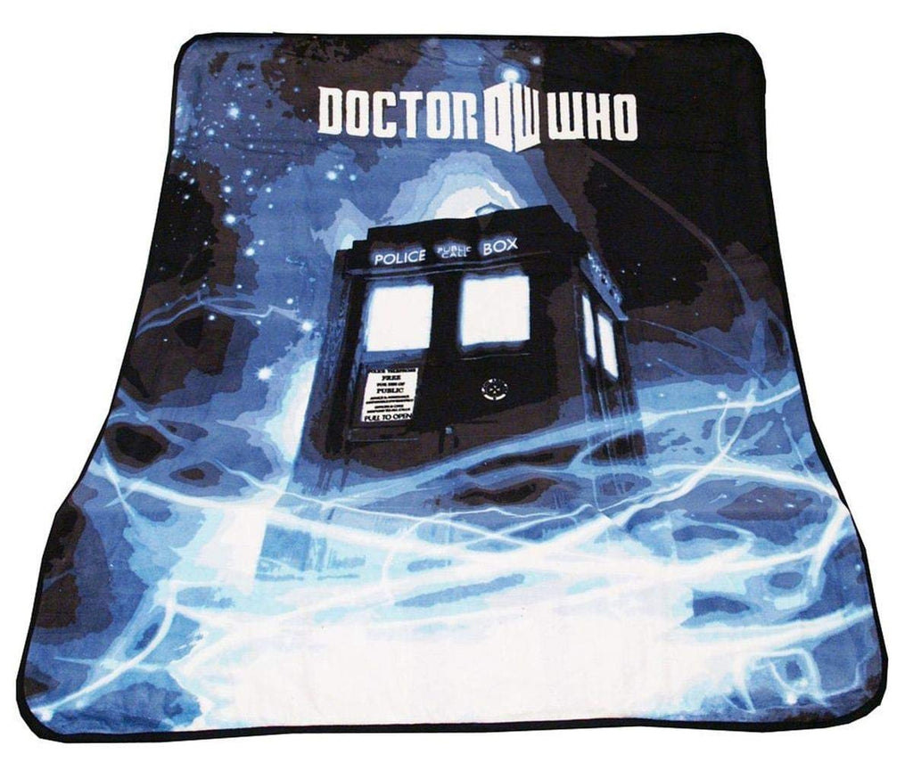 Doctor Who Throw Blanket - TARDIS Gallifrey Fleece - 50