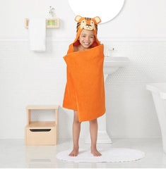Jumping Beans Animal Hooded Bath Towel Wrap - 25'' x 50