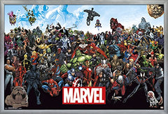Trends International Wall Poster Marvel the Lineup, 22.375 x 34
