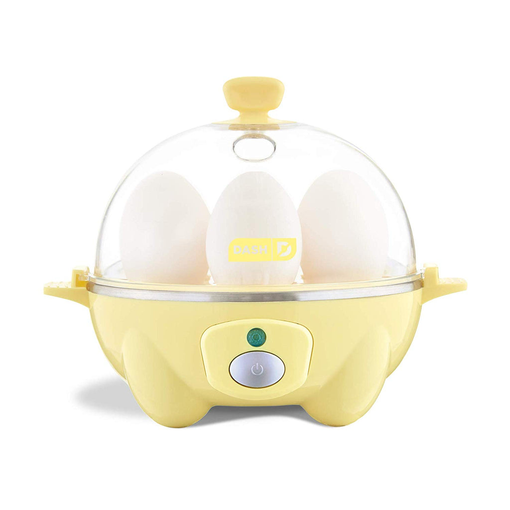 Dash Rapid Egg Cooker: 6 Egg Capacity Electric Egg Cooker for Hard Boiled Eggs, Poached Eggs, Scrambled Eggs, or Omelets with Auto Shut Off Feature -