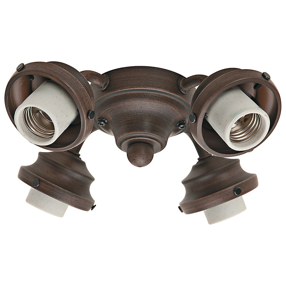 Hunter 99144 Four Light Fitter, Cocoa