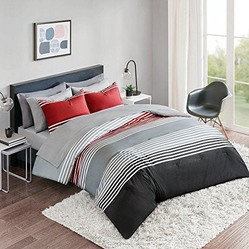 Bed In A Bag Twin Xl Comforter Set With Sheets Feat Two Side