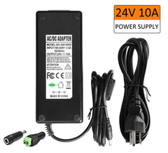 Outdoor LED Transformer, 150W LED Driver to 12 Volt DC Output, IP67 Waterproof LED Power Supply, 90V-250V/12.5A for LED Light, Computer Project, Outdo