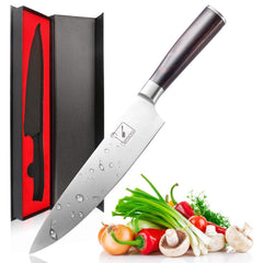 Imarku Pro Kitchen 8 Inch Chef's Knife High Carbon Stainless Steel Sharp Gyutou Knives Ergonomic Equipment