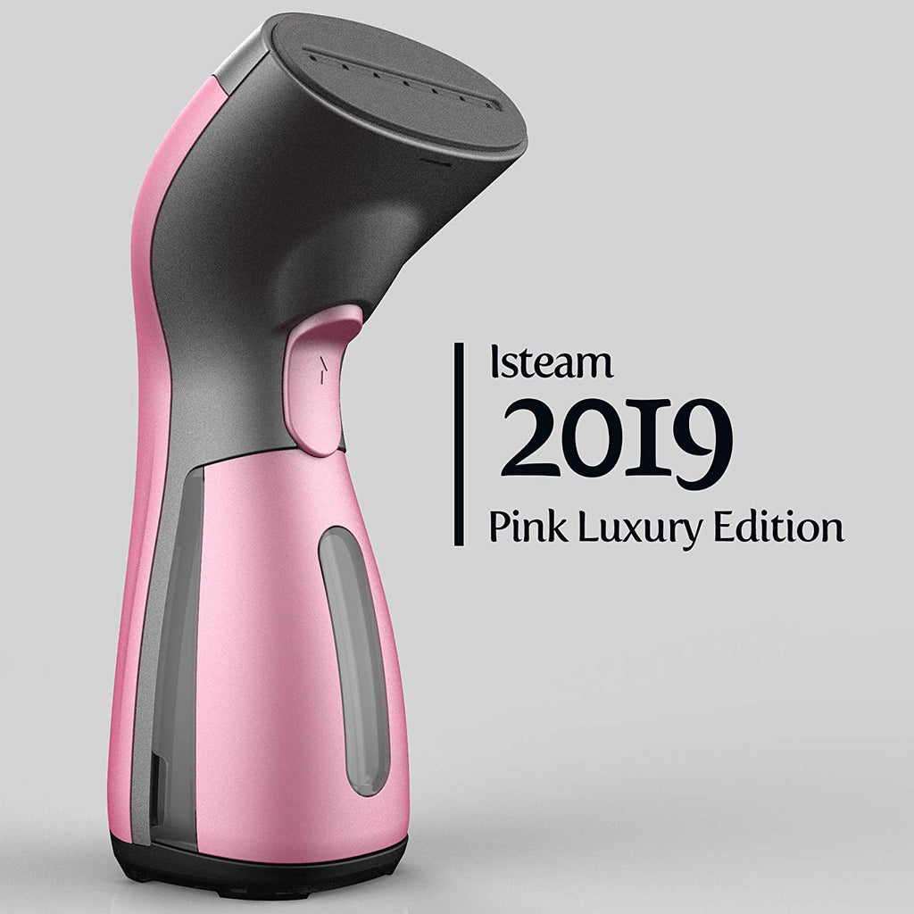 iSteam Luxury Edition [2019] Steamer for Clothes 8-in-1 Powerful Clothes Wrinkle Remover- Clean- Sterilize- Sanitize- Refresh- Treat- Defrost -for Gar