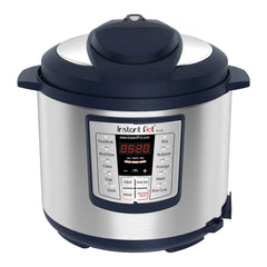 Instant Pot Lux 6 Qt Blue 6-in-1 Muti-Use Programmable Pressure Cooker, Slow Cooker, Rice Cooker, Sauté, Steamer, and Warmer