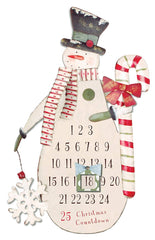 Sunset Vista Designs Snowman Christmas Countdown