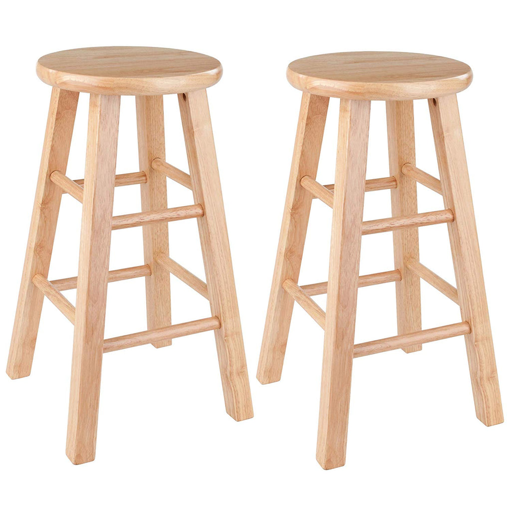 "Winsome Wood 83224 Pacey Stool, 24"", Natural"
