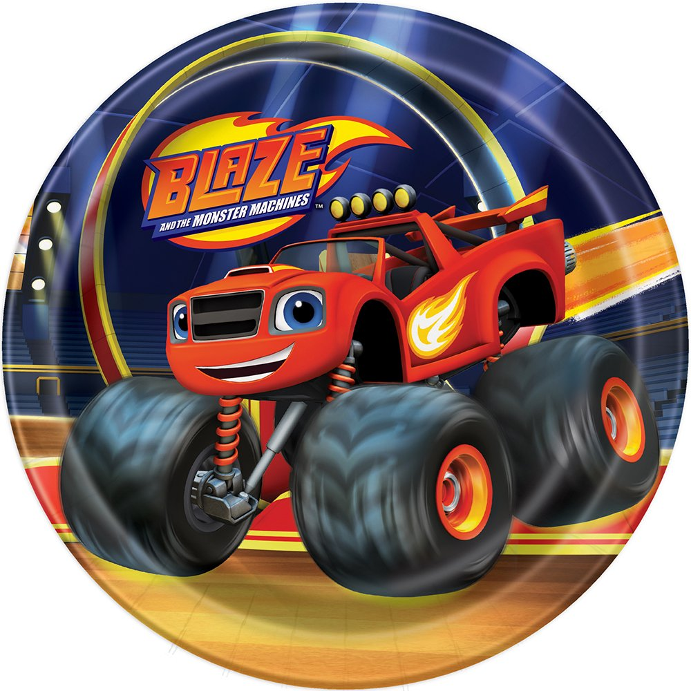 Blaze and the Monster Machines Dessert Plates, 8ct