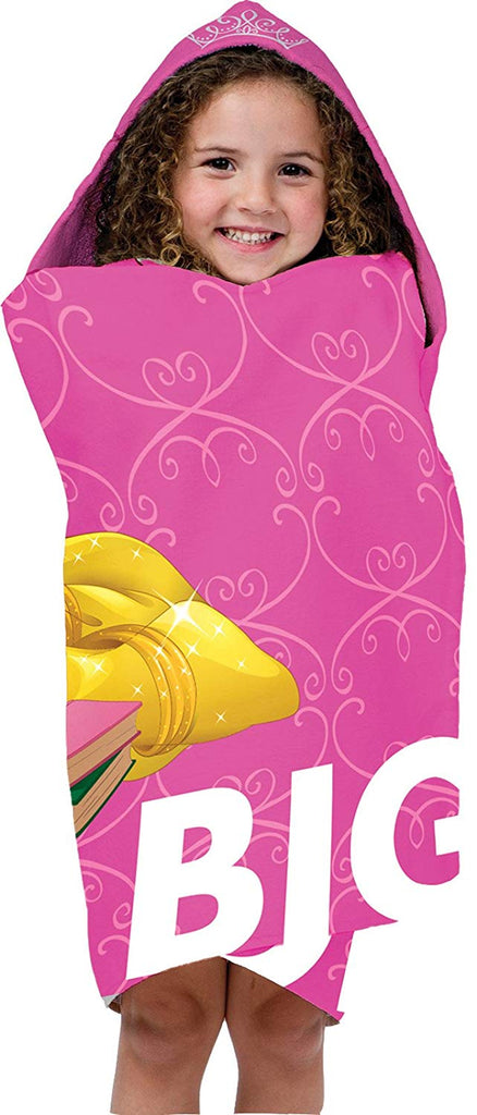 Jay Franco Dream Cotton Hooded Towel, Beauty and The Beast