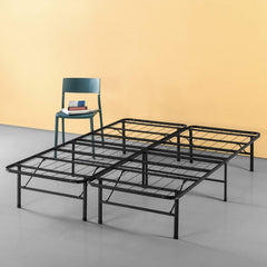 Zinus 14 Inch Classic SmartBase Mattress Foundation, Platform Bed Frame, Box Spring Replacement, Quiet Noise-Free, Under-bed Storage, King
