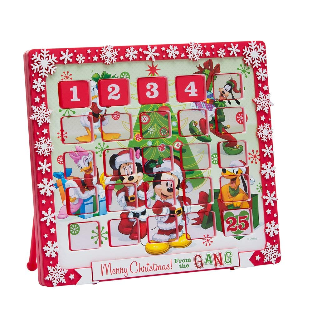 "Kurt Adler 9.5"" Mickey Mouse and Friends Advent Calendar"