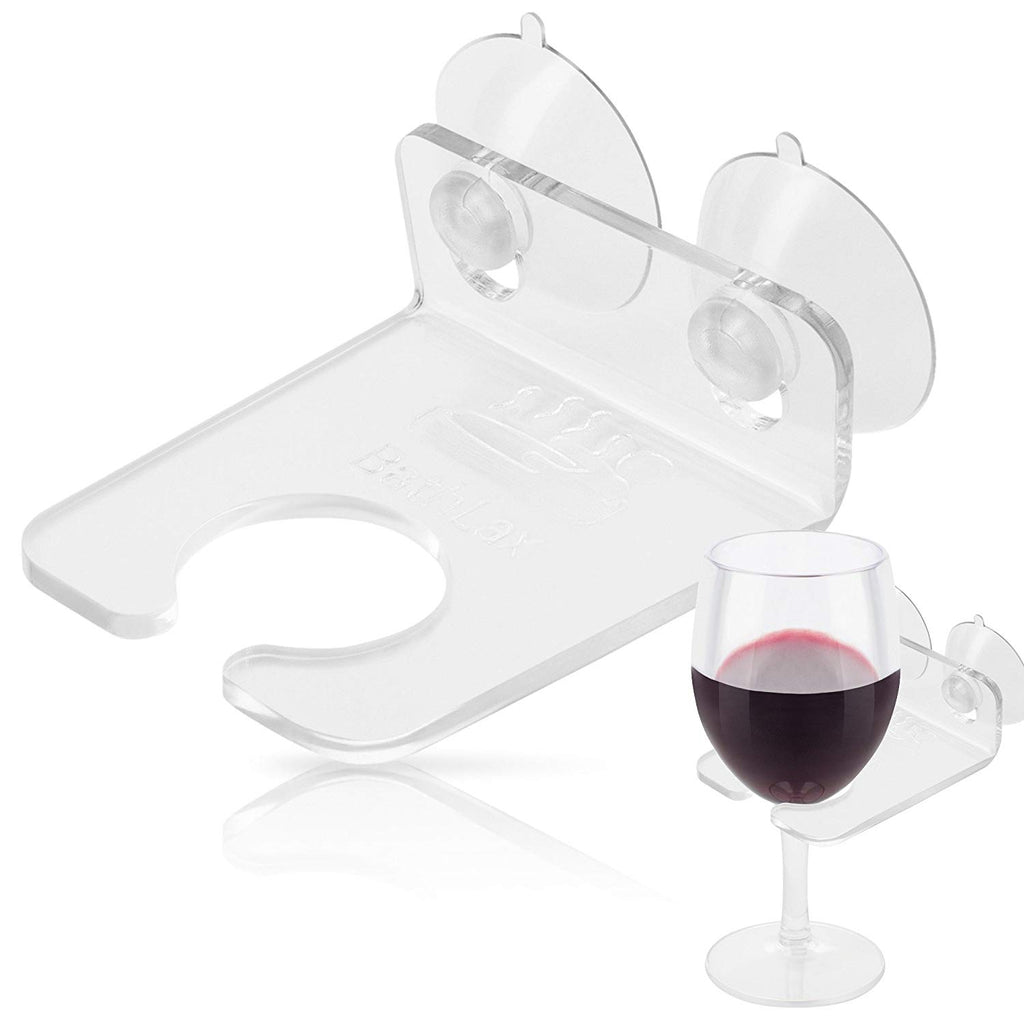 Stocking Stuffers for Her BathTub Products, Relax Bathtub Wine Glass Bath Holder Caddy Gifts Ideas for Women Employee Christmas Gift Idea