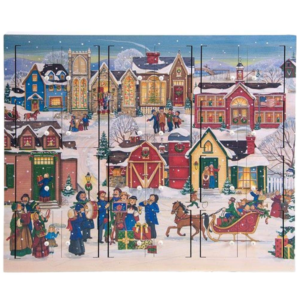 Byers' Choice Christmas Village Advent Calendar #AC21