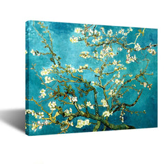Creative Art- Canvas Prints Giclee Artwork for Wall Decor Classic Van Gogh Artwork Oil Paintings Reproduction Almond Blossom Canvas Picture Photo Prin