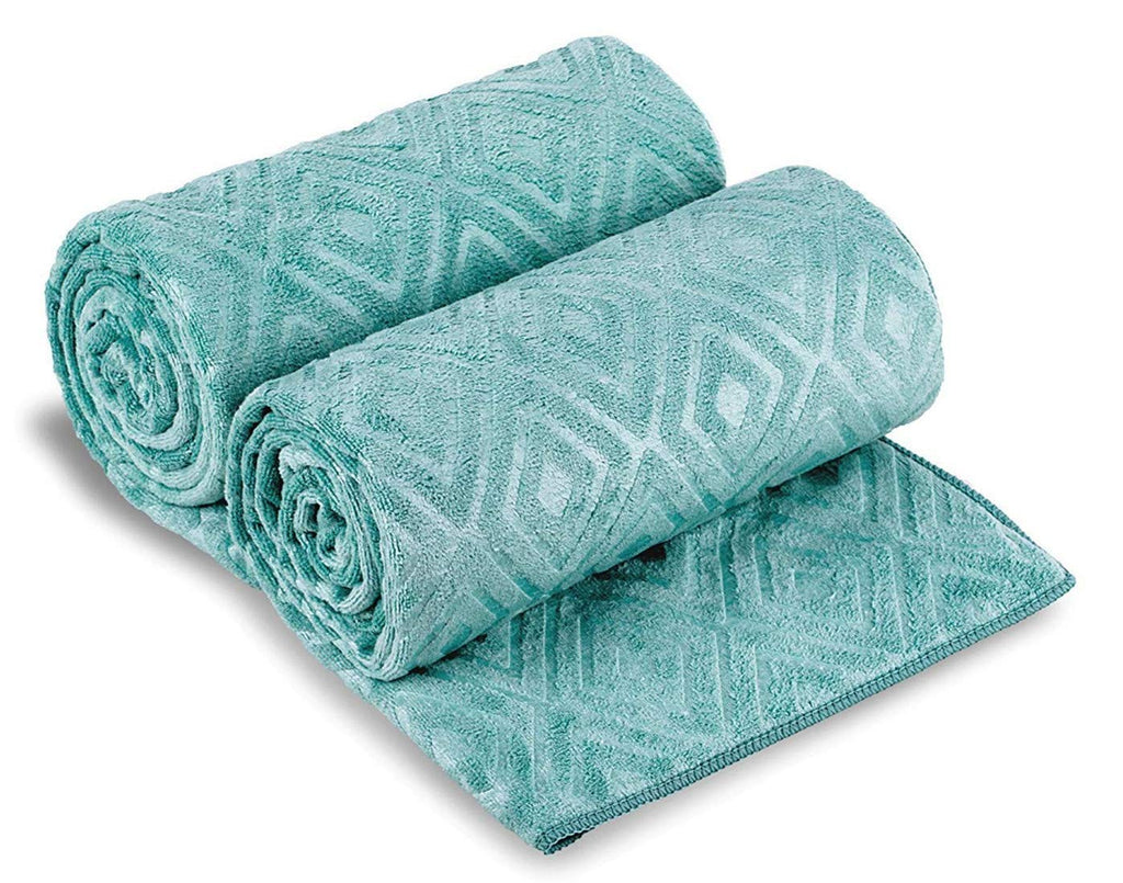"JML Microfibre Bath Towels 2 Pack, Oversized Microfiber Towels(30"" x 60""), Soft, Antibacterial,Lint-Free and Super Absorption Multipurpose Towels for"