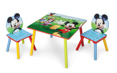 Delta Children Kids Chair Set and Table (2 Chairs Included), Disney Mickey Mouse