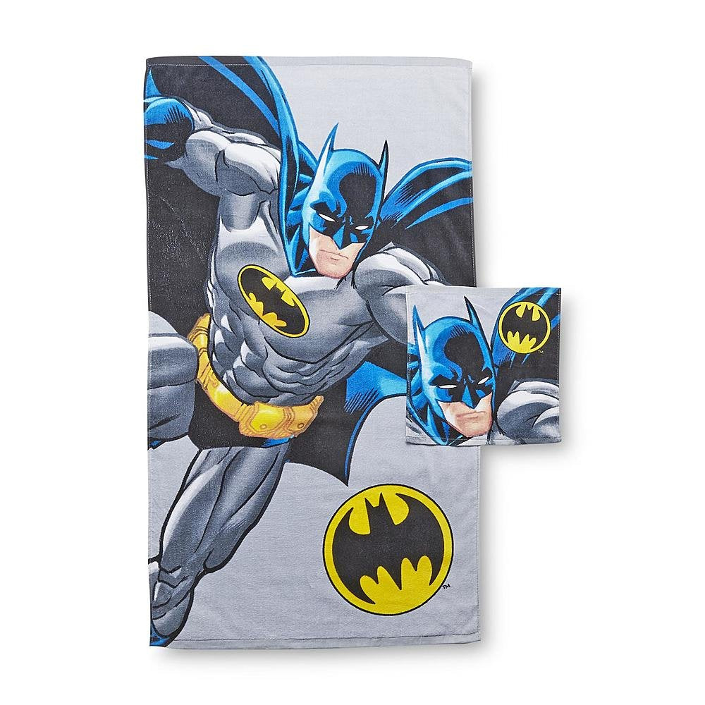 Batman 2 Piece Bath Set