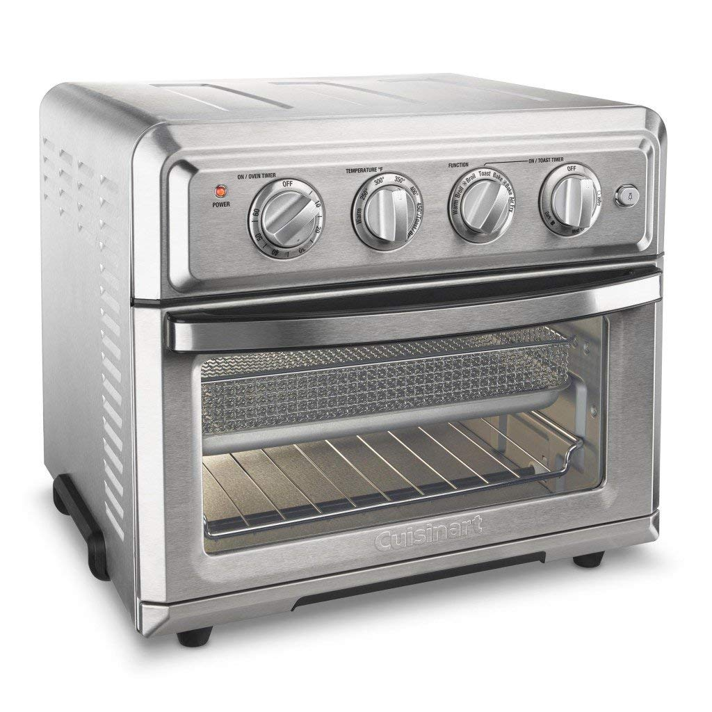 Cuisinart TOA-60 Air Fryer Toaster Oven, Silver