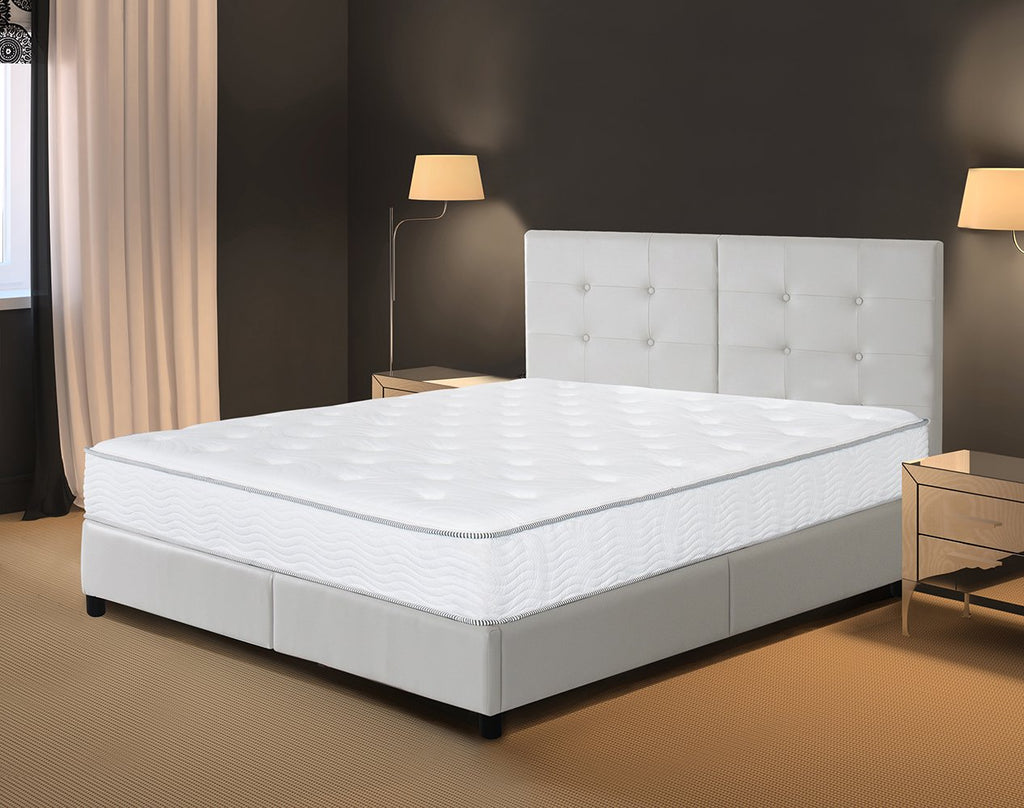 Olee Sleep 10 Inch Hybrid Cool I-Gel Foam Top Innerspring Mattress 10SM01K
