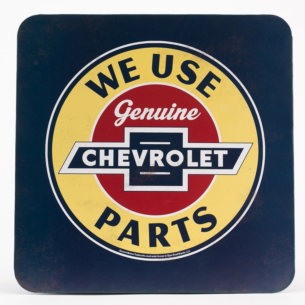 Open Road Brands Chevrolet Parts Metal Cabinet