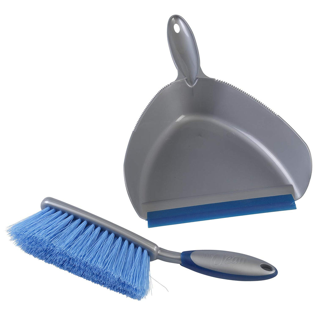 Mr. Clean 444444 Dust Pan and Brush Set