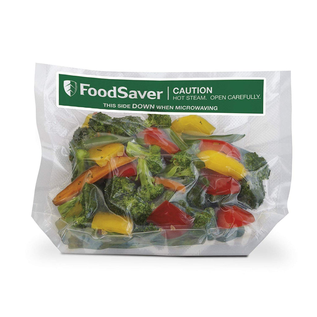 FoodSaver 1-Quart Precut Vacuum Seal Bags with BPA-Free Multilayer Construction for Food Preservation, 44 Count
