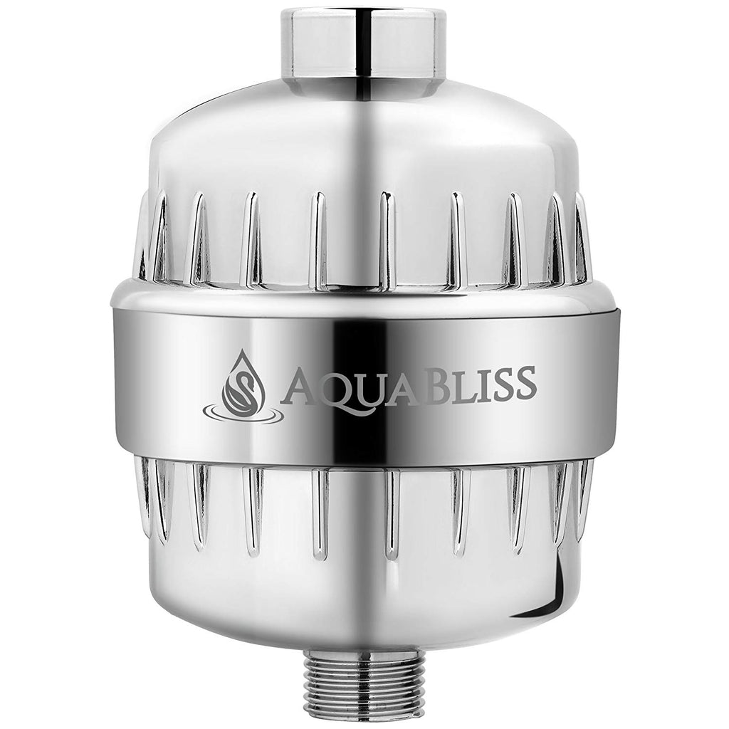 AquaBliss High Output 12-Stage Shower Filter - Reduces Dry Itchy Skin, Dandruff, Eczema, and Dramatically Improves The Condition of Your Skin, Hair an