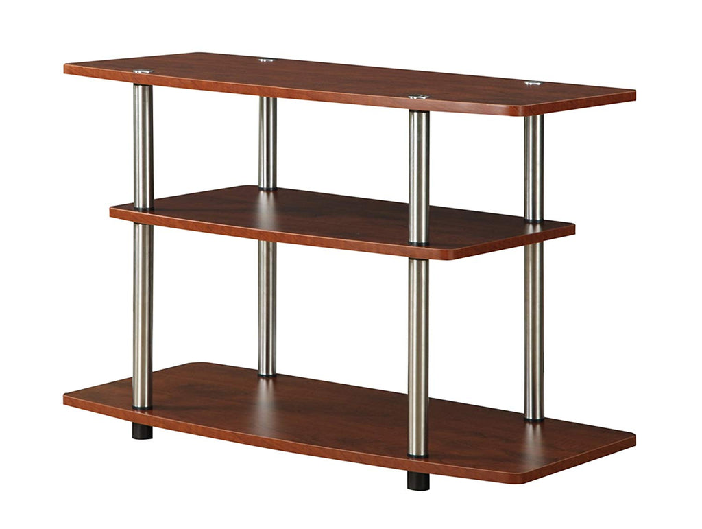 Convenience Concepts Designs2Go 3-Tier TV Stand for Flat Panel Television Up to 32-Inch or 80-Pound, Dark Espresso