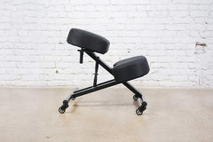 Sleekform Knee Chair | Ergonomic Kneeling Posture Stool for Back, Neck, Spine Relief | Folding, Backless | Angle & Height Adjustable Orthopedic Seat |
