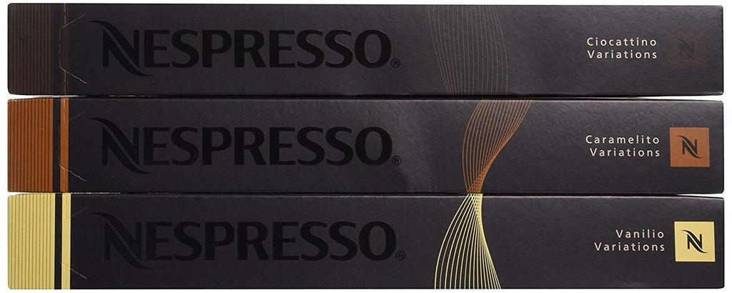 Nespresso OriginalLine: Vanilio, Ciocattino, Caramelito - ''NOT Compatible with Vertuoline''